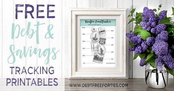 FREE Debt and Savings Tracking Printables