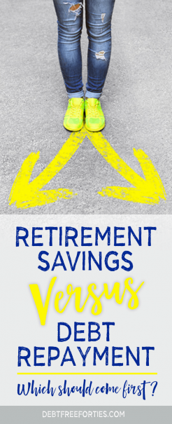Retirement Savings vs. Paying Off Debt: Which Should Come First?