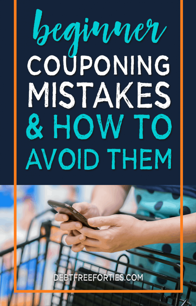 If you're just starting out with couponing, I've pulled together a list of my most common couponing mistakes and how I fixed them so you can avoid them. Beginner couponing mistakes and how to avoid them #couponing #coupons #savingmoney
