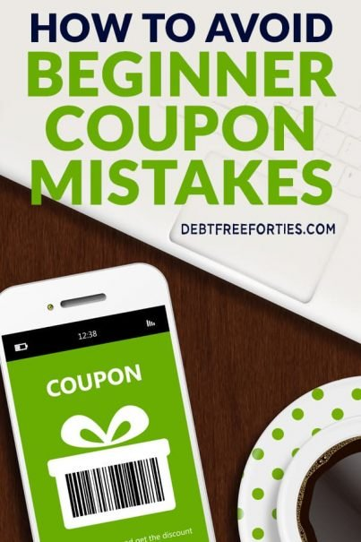Coupon app on phone with coffee and computer