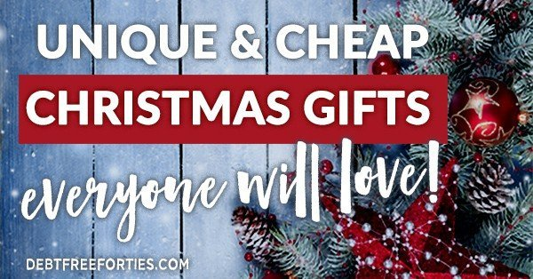 Unique and cheap Christmas gifts everyone will love