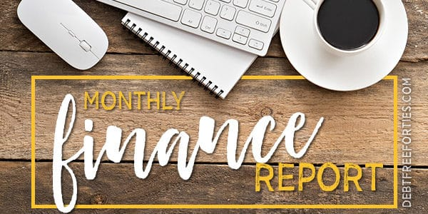 Monthly finance report