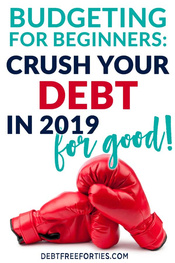 Are you living paycheck to paycheck? Not sure how to get out of debt for good? Learn how we paid off $26,619 with the budgeting for beginners bootcamp #debt #debtfree #finances #financialfreedom