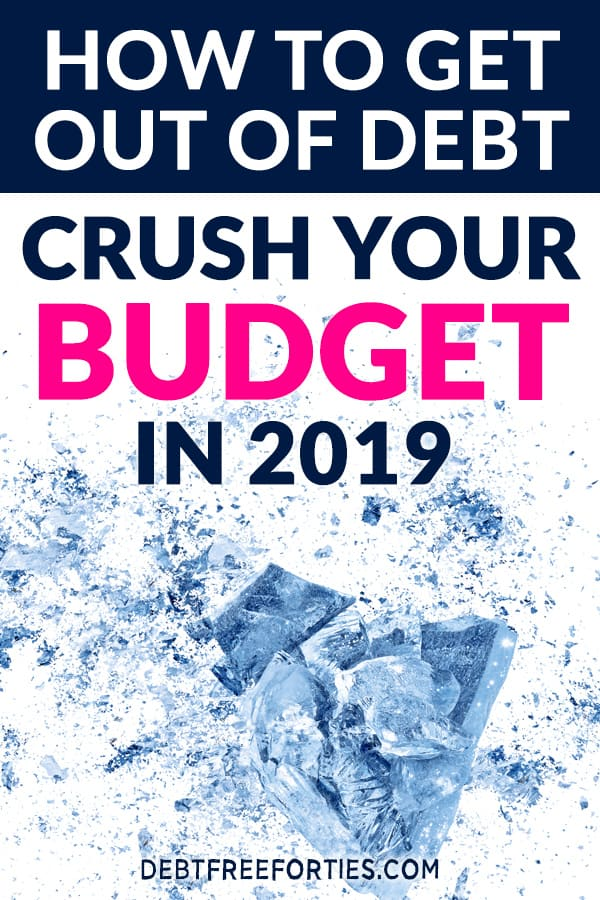 Are you living paycheck to paycheck? Not sure how to get out of debt for good? Learn how we paid off $26,619 with just one tool! #budget #budgeting #debt #financialfreedom