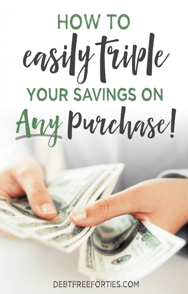 These are my secret weapons to triple my savings when shopping! How to easily triple your savings on any purchase #savings #couponing #budget