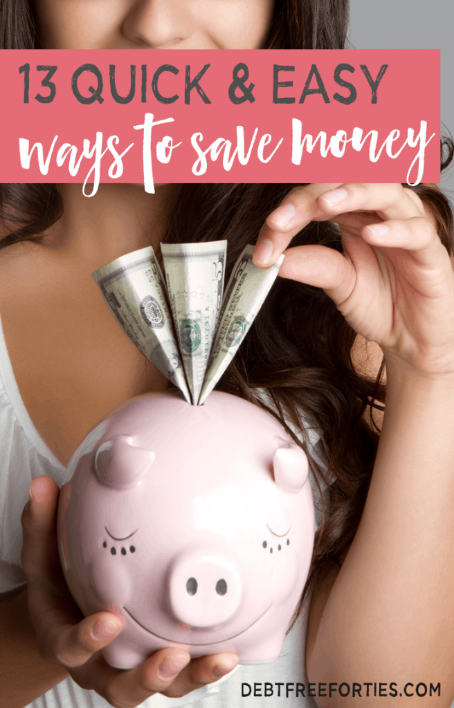 During the past year of budgeting, we've learned a lot of ways to save money. Here are 13 ways that we trimmed our budget in order to save over $700 a month! #budget #waystosavemoney