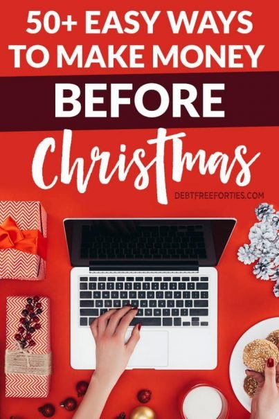 Whether you're looking to make money before Christmas or pay off your debt, here's the ultimate list of how to m ake money online. #christmas #money #sidehustle