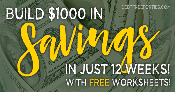 How to Save Money: Build $1000 in Savings in 12 Weeks