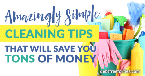 Amazingly Simple Cleaning Tips that'll Save You Tons of Money