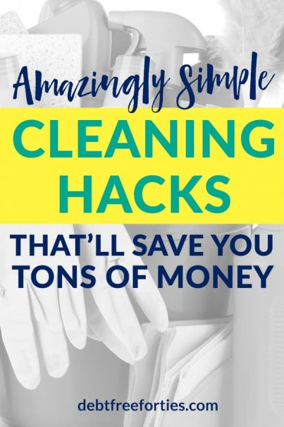 Every spring I feel the need for a refresh. There's just something about the fresh air and sunshine that makes me want to review our budget, get rid of clutter, and do a deep spring clean. So why not bust open the windows and start your spring with my favorite cleaning hacks that'll help you save a ton of money? #cleaningtips #springcleaning #frugal