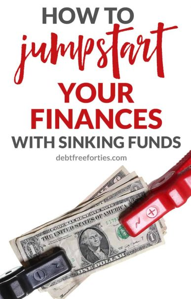 Struggling with budgeting and trying to stay ahead? Learn how sinking funds can save your budget and jumpstart your finances #finances #debt #sinkingfunds