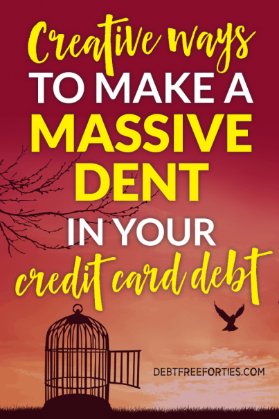 Wondering how to pay off credit card debt quickly? Use these tips and tricks to not only get your credit card debt paid off, but creative ways to do it quickly! #debt #creditcarddebt #debtpayoff