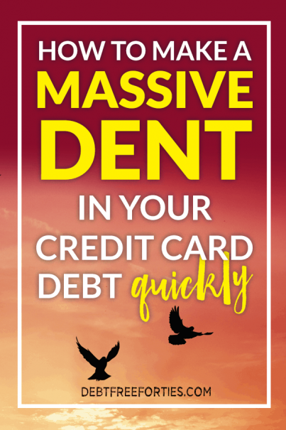 Wondering how to pay off credit card debt quickly? Use these tips and tricks to not only get your credit card debt paid off, but do it quickly! #debt #creditcarddebt #debtpayoff