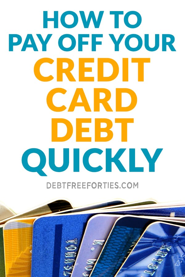 Wondering how to stop racking up expenses on your credit cards? Use these tips and tricks to pay off your credit card debt quickly! #debt #creditcarddebt #debtpayoff #finance #debtfree #creditcard