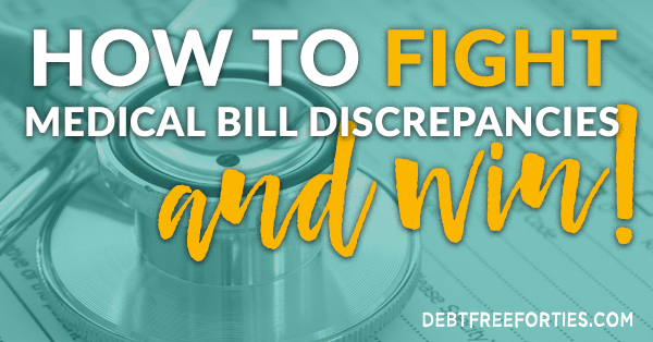 How to Fight and Conquer Discrepancies in Medical Bills