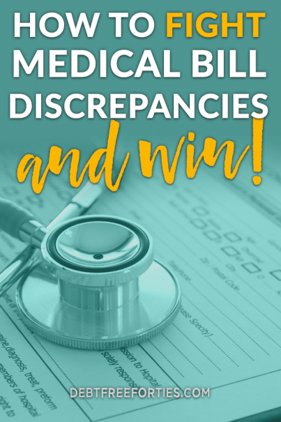 Do you know what to do if medical bills are incorrectly billed and processed? Here's some tips on how to get your medical bill settled correctly and make the most of it financially. #debt #debtfree