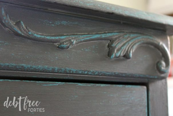 Enjoy your finished chalk paint furniture!