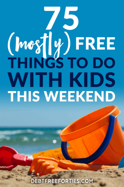 It doesn't have to be hard to find free things to do with kids. I've covered family things to do, indoor activities, at home activities, and free things to do near you with kids #budget #kids #kidsactivities