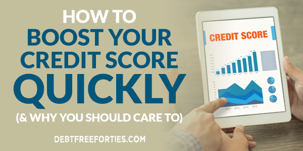 How to boost your credit score quickly
