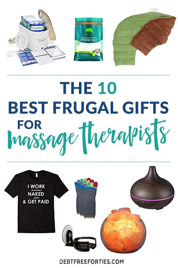 Massage therapists are some of the best people in our lives - so why not treat them with a unique and relaxing frugal gift? These gifts for massage therapists will help them to take care of themselves after they've spent the day taking care of everyone else. #giftguide #massagetherapist #gift #frugal