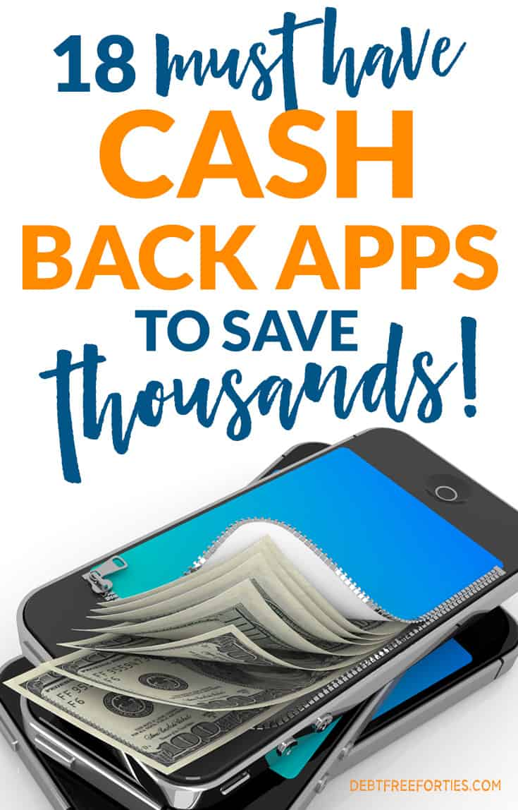 There are a ton of cash back and rebate sites out there. Sifting through them to find the must have cash back apps is time consuming, but I've pull together a comprehensive list of the absolute best. #cashback #frugal #savings #savingmoney #cashback #savemoney
