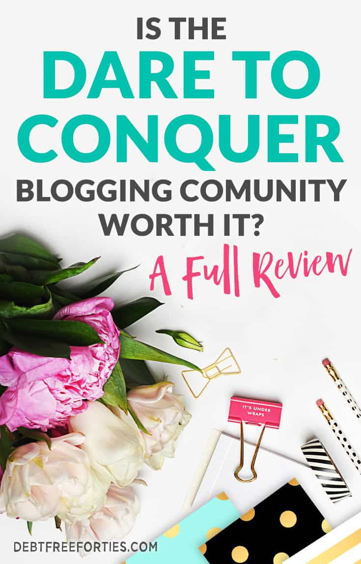 Want to know if the Dare to Conquer/Billionaire Blog Club lives up to the hype? Read my thorough review on the good and bad of the blogging community. #billionaireblogclub #bbc #daretoconquer #dtc #review
