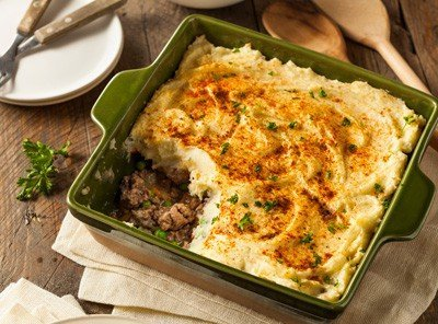 Shepherds pie is a quick and easy cheap dinner idea