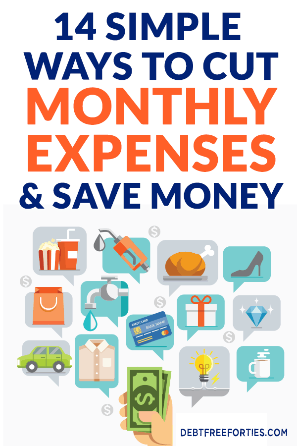 Using these tips, we were able to save ourselves an extra $750 on our monthly expenses! Here are 14 super easy ways to save money. #saving #budget #finance #savemoney