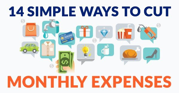 14 simple ways to save on monthly expenses