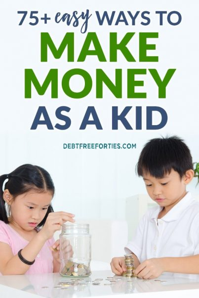 Kids counting money