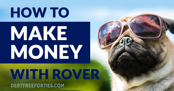 Dog with sunglasses and text that reads how to be successful on Rover