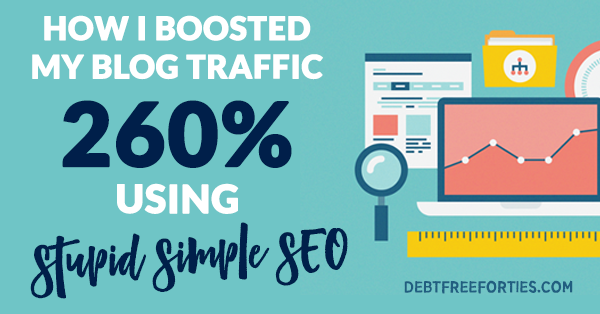 How I boosted by blog traffic 260% using Stupid Simple SEO