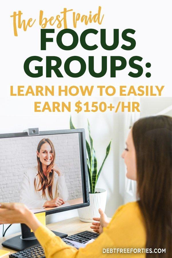 two women talking through an online focus group