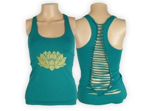 front and back of yoga tank