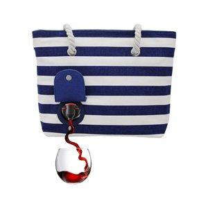beach wine purse