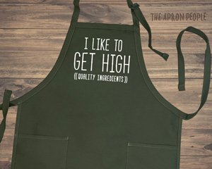 apron with funny saying